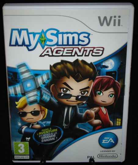 My Sims Agents / WII / Complet
