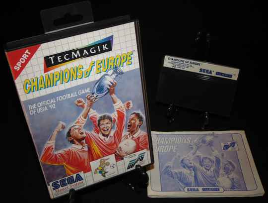 Champions of Europe / SMS / Complet