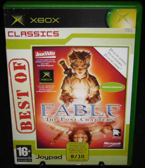 Fable The Lost Chapters / Xbox / Complet / Best Of Classics Fr. TBE!