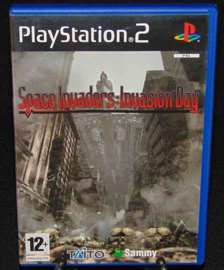 Space Invaders: Invasion Day / PS2 / Complet / Fr.