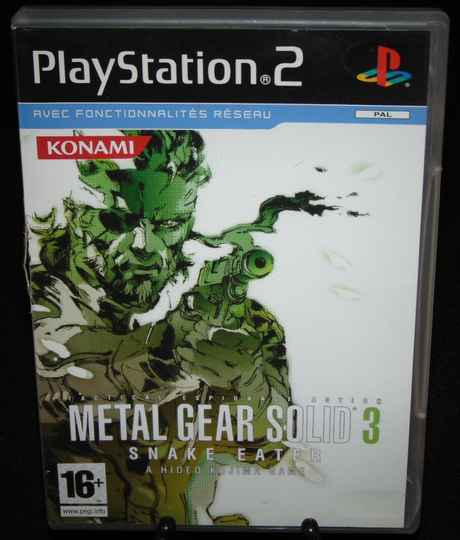 Metal Gear Solid 3 / PS2 / Complet / Fr.