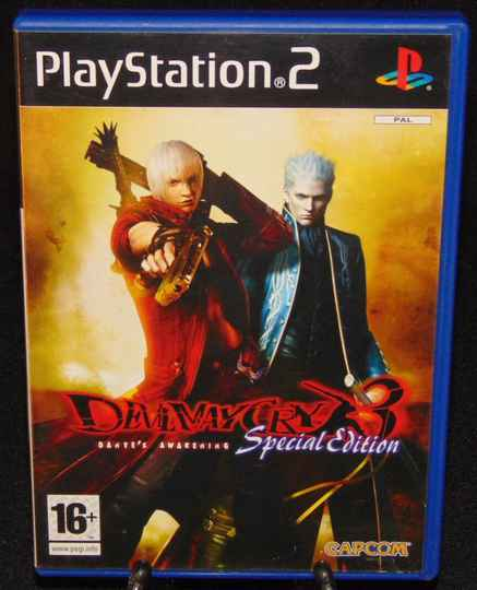 """Devil May Cry 3 """"Spécial Edition"""" / PS2 / Complet / FAH"""