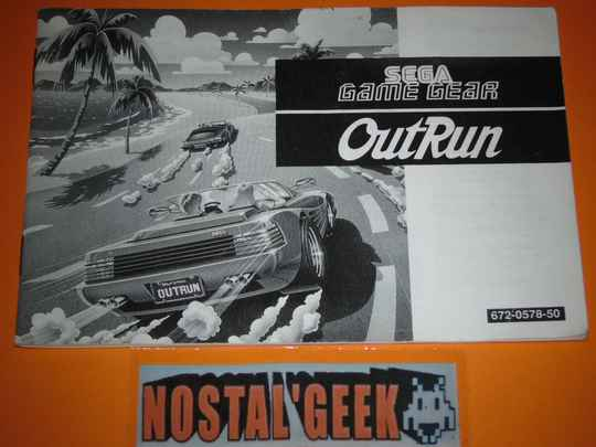 Out Run / Notice GG / Pal.