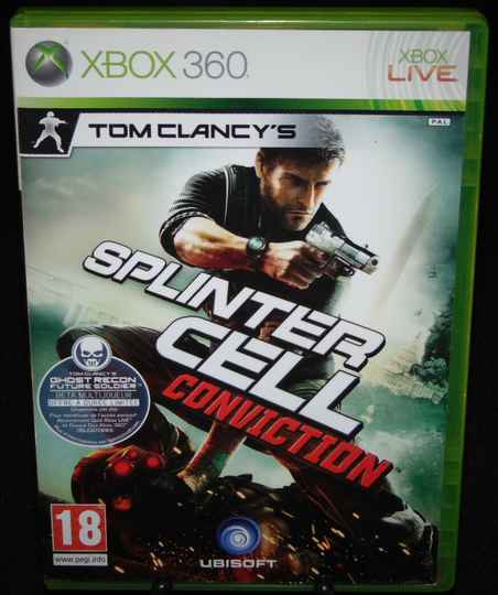Splinter Cell Conviction / Xbox 360 / Complet / Fr.