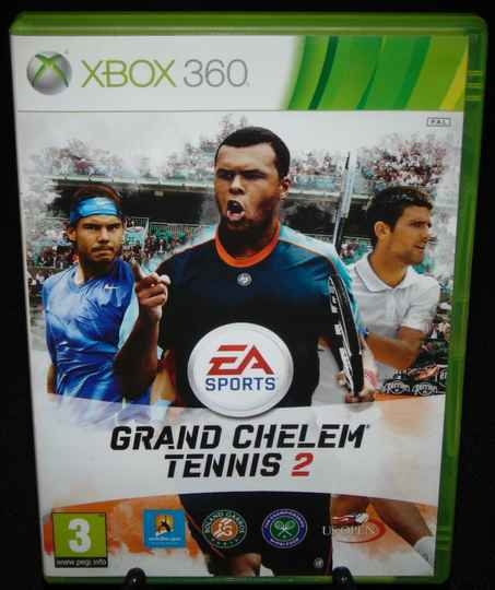 Grand Chelem Tennis 2 / Xbox 360 / Complet / Fr.