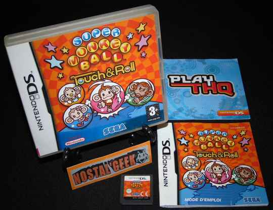 Super Monkey Ball Touch & Roll / Jeu DS / Complet