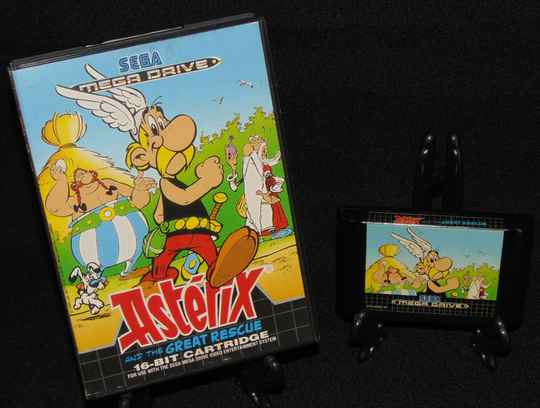 Astérix and the Great Rescue / SMD / En Boite