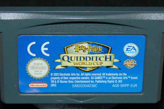 Harry Potter Quidditch World Cup / EUR. / GBA