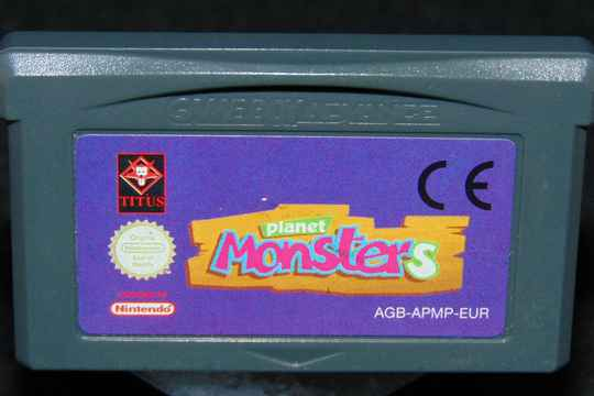 Planet Monsters / EUR. / GBA