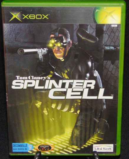 Tom Clancy's Splinter Cell  / Xbox / Complet / Fr.