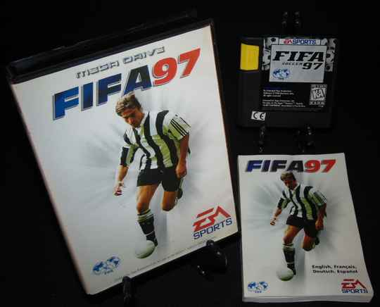 FIFA Soccer 97 / SMD / Complet