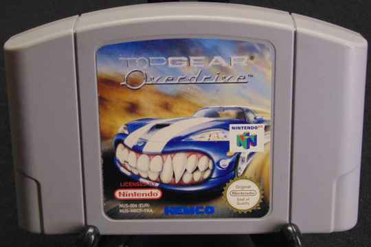 Top Gear Overdrive / FRA. / N64