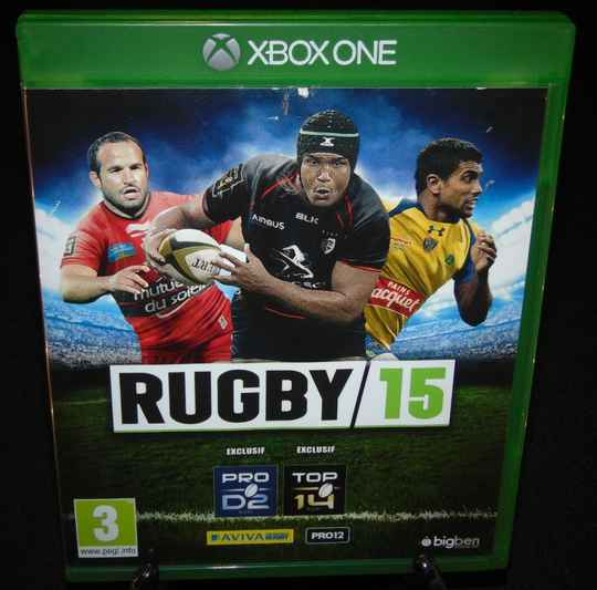 Rugby 15 / Xbox One / Complet / Fr.