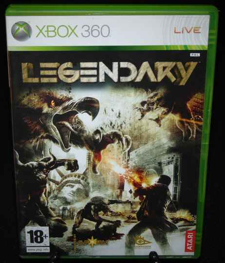 Legendary / Xbox 360 / Complet / Fr.