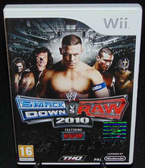 Smack Down vs Raw 2010 / WII / Complet