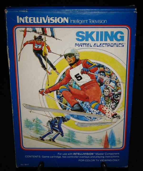 Skiing / Intellivision / Complet Fr.