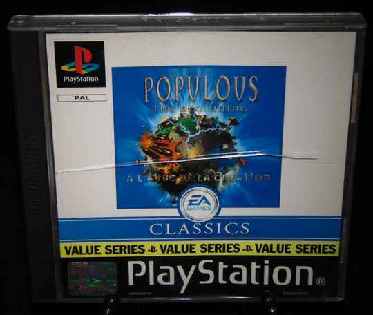 Populous The Beginning / PS1 / Complet / Fr.