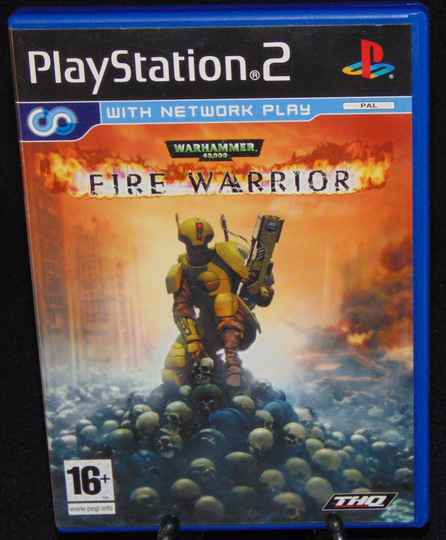 Fire Warrior / PS2 / Complet / FAH.