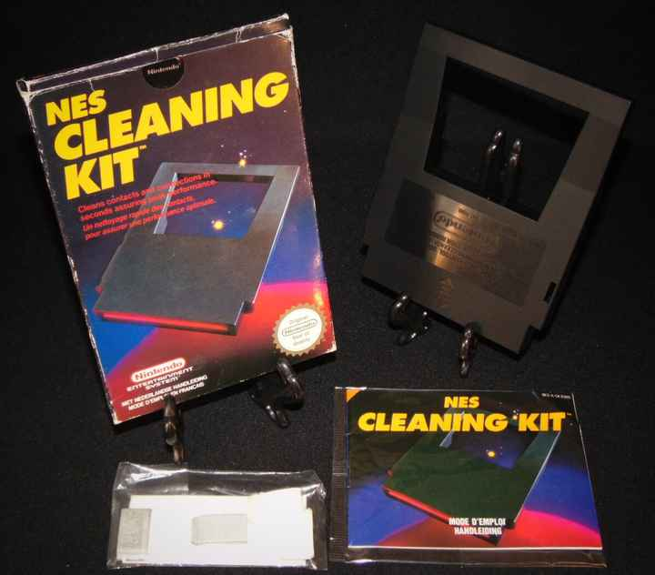 Nes Cleaning Kit  / Acces. NES / Complet
