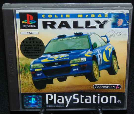 Colin McRAE Rally / PS1 / Complet avec Poster / Fr.