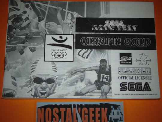 Olympic Gold Barcelona '92 / Notice GG / Pal.