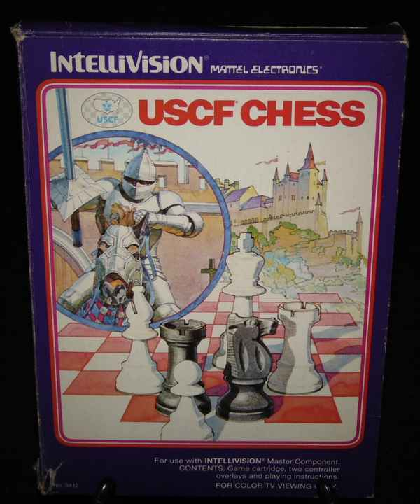 USCF Chess / Intellivision / Complet Fr.