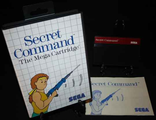 Secret Command / SMS / Complet TBE!