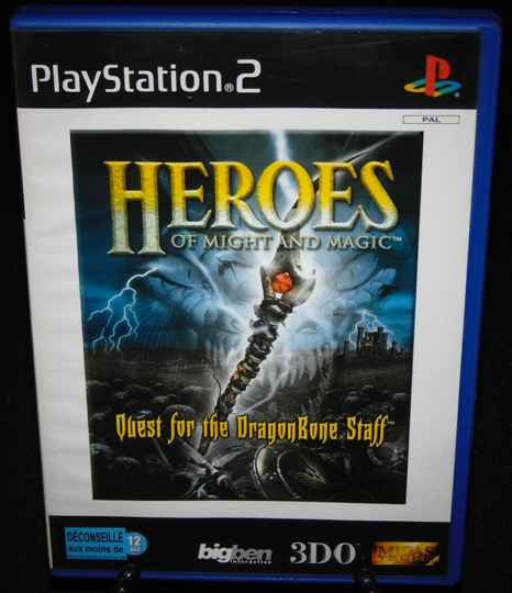 Heroes of Might and Magic / PS2 / Complet / TBE! Fr.