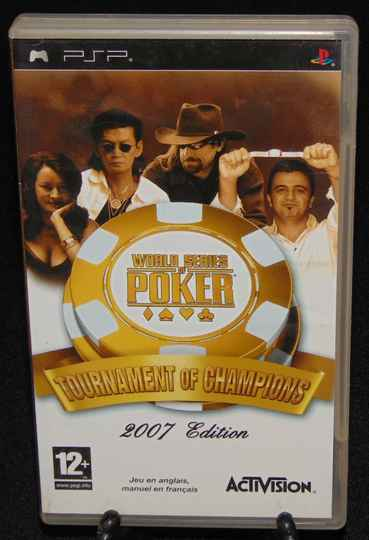World Series of Poker 2007 Edition / PSP / Complet / Fr.
