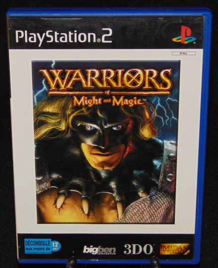 Warriors of Might and Magic / PS2 / Complet / Fr.