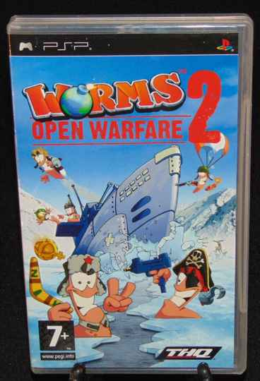 Worms 2 Open Warfare / PSP / Complet / FAH