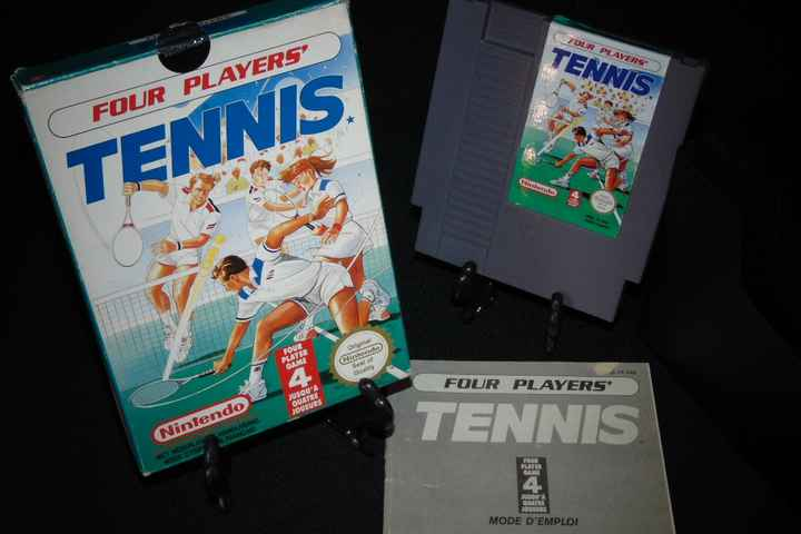 Four Player's Tennis - FRA. / NES / Complet