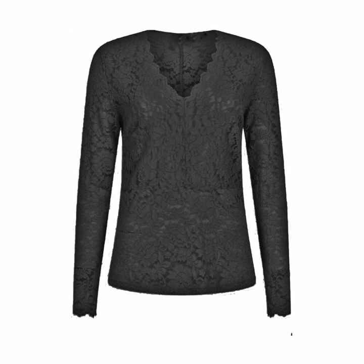 Tramontana | Top Lace Black