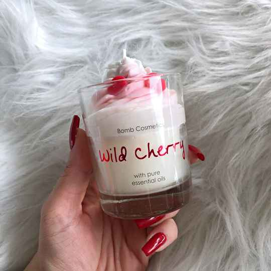 WHIPPED CANDLE - WILD CHERRY