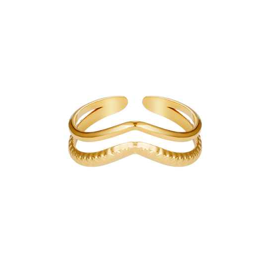 RING - DOUBLE WAVE