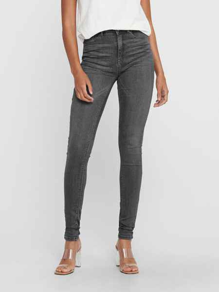 ONLY PAOLA SKINNY GREY USED JEANS 15170694