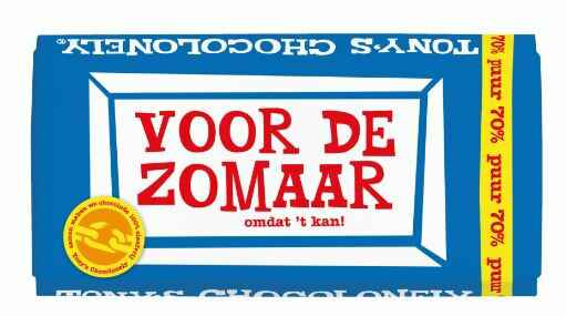 Tony chocolonely Zomaar