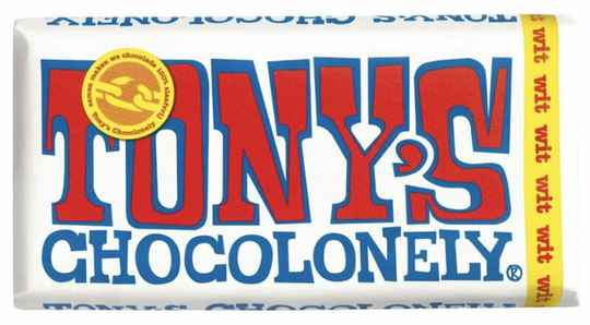 Tony chocolonely Wit