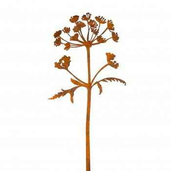 HOGWEED STEEL SCULPTURE (BERENKLAUW) - Divers by Margriet