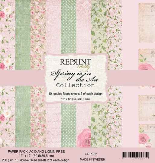 Reprint Spring is in the Air Collection 12x12 Inch Paper Pack