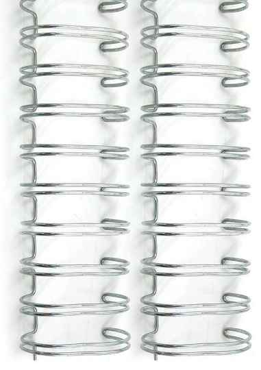 We R Memory Keepers Cinch Wire 1 Inch Silver (2pcs) (71009-7)