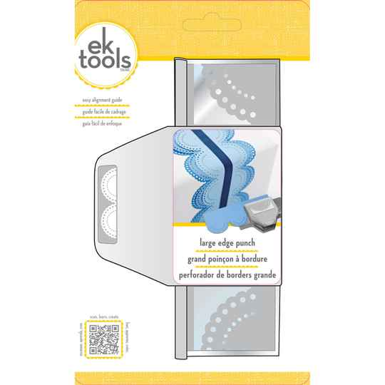 EK Success Tools Large Edge Punch Dotted Scallop (54-50073)