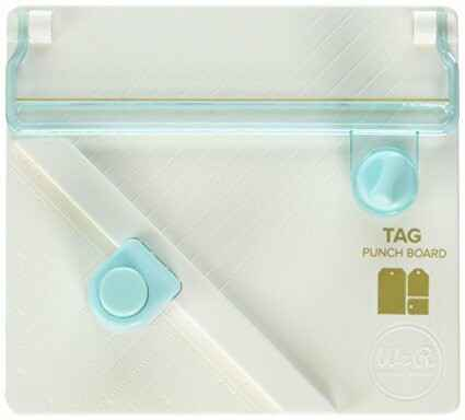660248 Tag Punch Board We R Memory Keepers