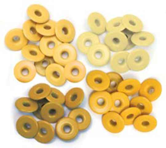 We R Memory Keepers Yellow Crop-A-Dile Wide Eyelet (40pcs) (41587-9)