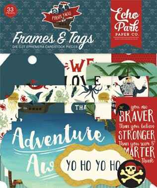 Echo Park Pirate Tales Frames & Tags (PTA176025)