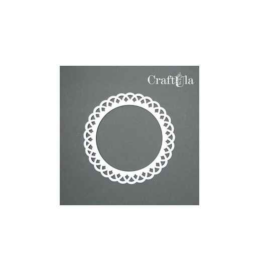 S&M chipboard rond nr 17