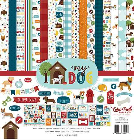 Echo Park My Dog 12x12 Inch Collection Kit (MD226016)