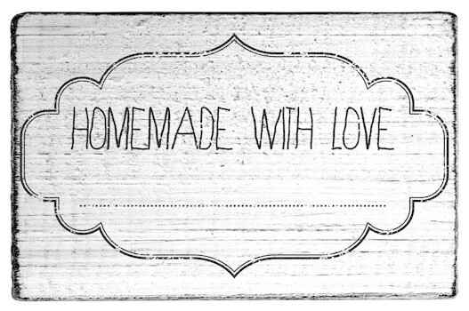 Colop Homemade With Love Vintage Rubber Stamps (V01006)