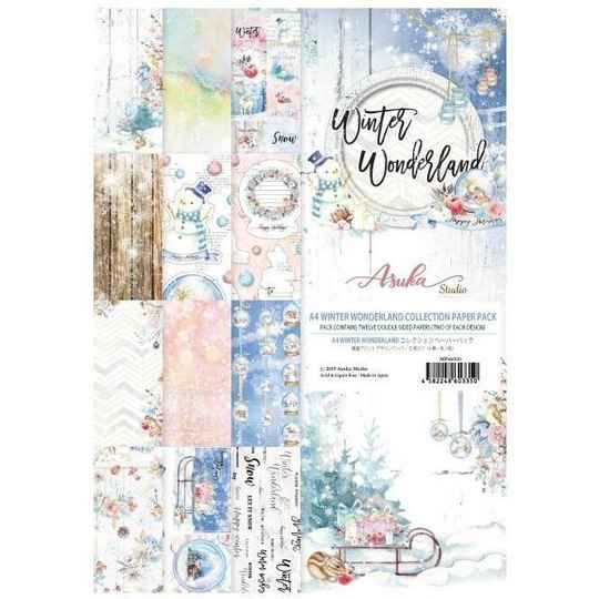 Memory Place Winter Wonderland A4 Paper Pack (MP-6033)