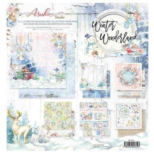 Memory Place Winter Wonderland 12x12 Inch Paper Pack (MP-60334)